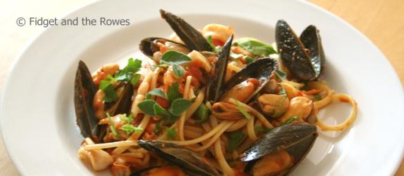 seafood linguine i frutti di mare