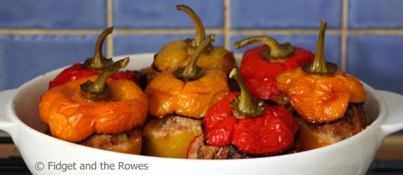 stuffed peppers peperoni ripieni