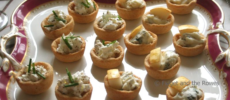 canaps tartellette amuse bouche mini morsels appetizers chez rowe - Mini Canape