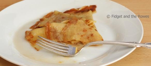Crêpes Suzette pancakes