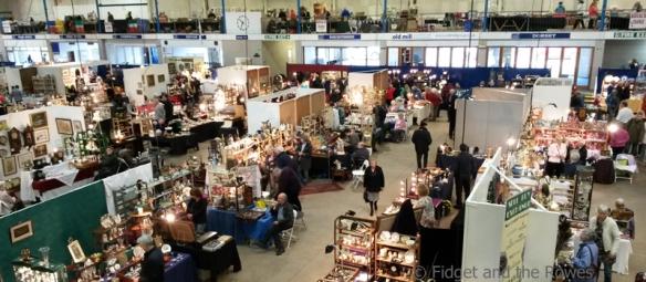 vintage antiques fairs