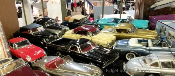 vintage antiques fairs bric-a-brac model cars