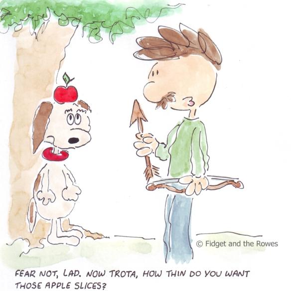 Guglielmo Tell apple tarte
