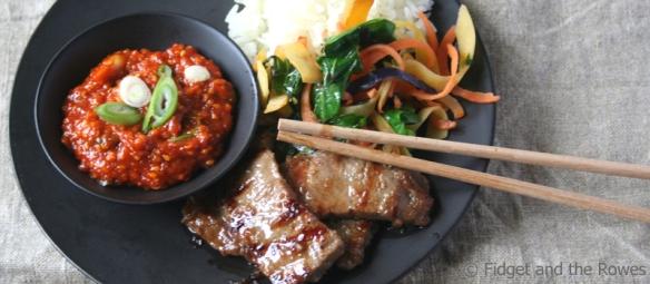 Korean BBQ Kalbi Judy Joo