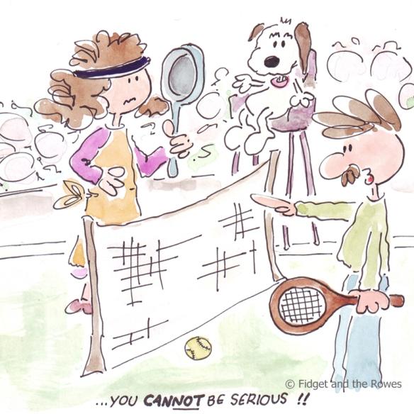you cannot be serious McEnroe Wimbledon
