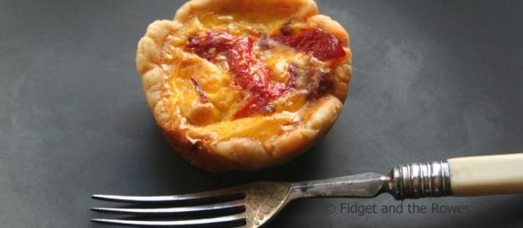 Catalan pimento chorizo tartlets