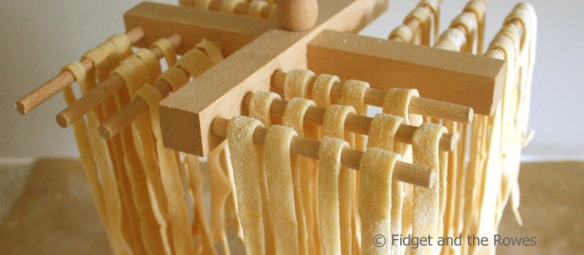Fresh Pasta home-made spaghetti tagliatelle linguine