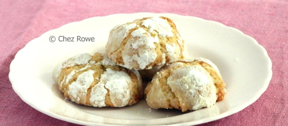 Lemon Biscuits Biscotti al Limone