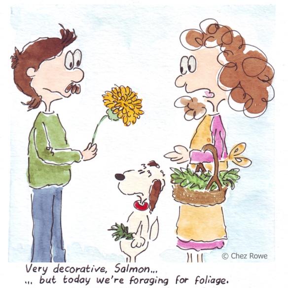 chard and leek savoury tart wild herbs dandelion