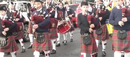 Edinburgh bagpipes