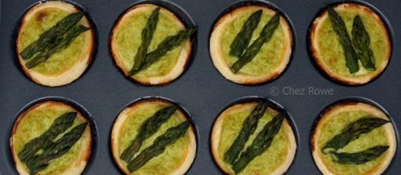 asparagus tartlets – tartellette agli asparagi